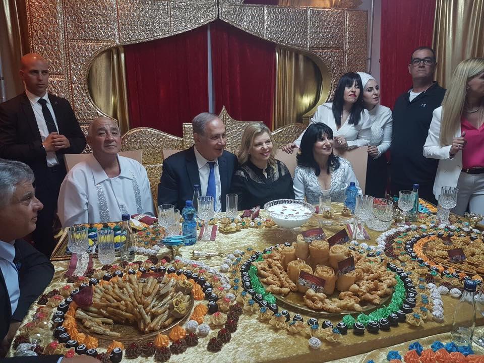 2017-04-18_Netanjahu Mimouna Pessach