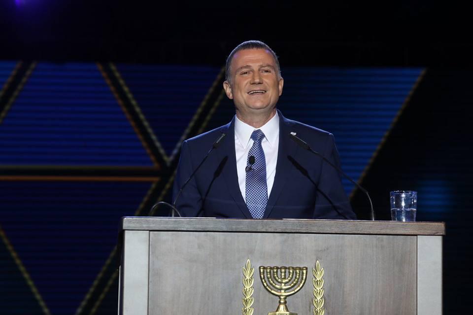 Knesset-Sprecher Yuli Edelstein bei seiner Rede