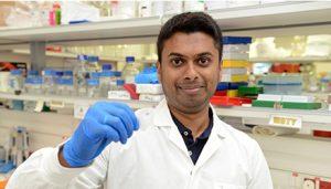 Vishnu Mohan liebt die Wissenschaft