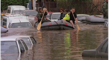 Überflutungen in Israel
