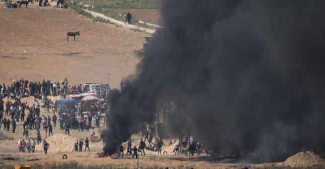 Randale an der Grenze zu Gaza