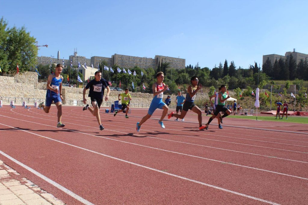 1.500 Jugendliche starten bei Kinderolympiade in Jerusalem