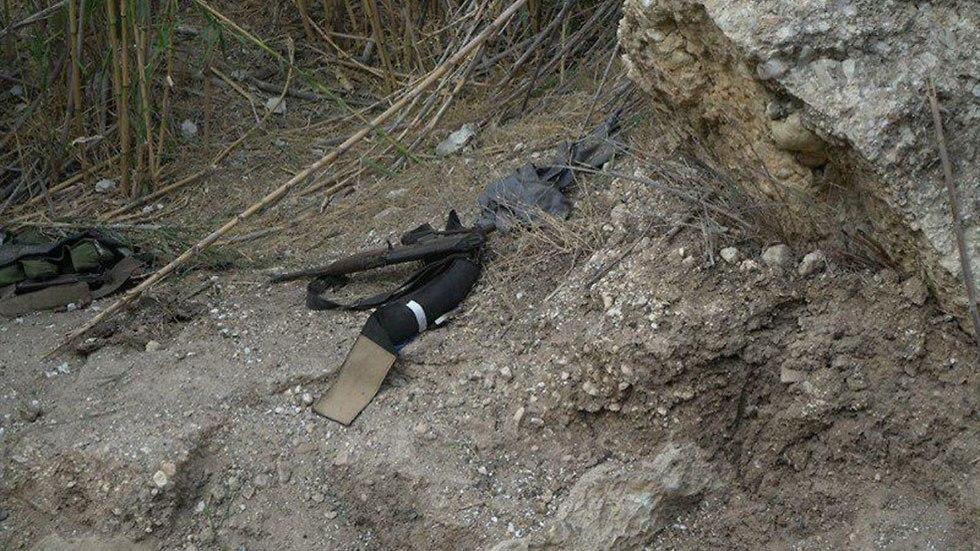 Diese Waffen fand die israelische Armee bei den Terroristen. Quelle: IDF.
