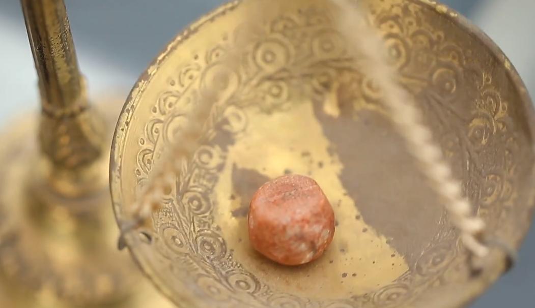 artefakt aus der zeit des ersten tempels ausgegraben. Black Bedroom Furniture Sets. Home Design Ideas