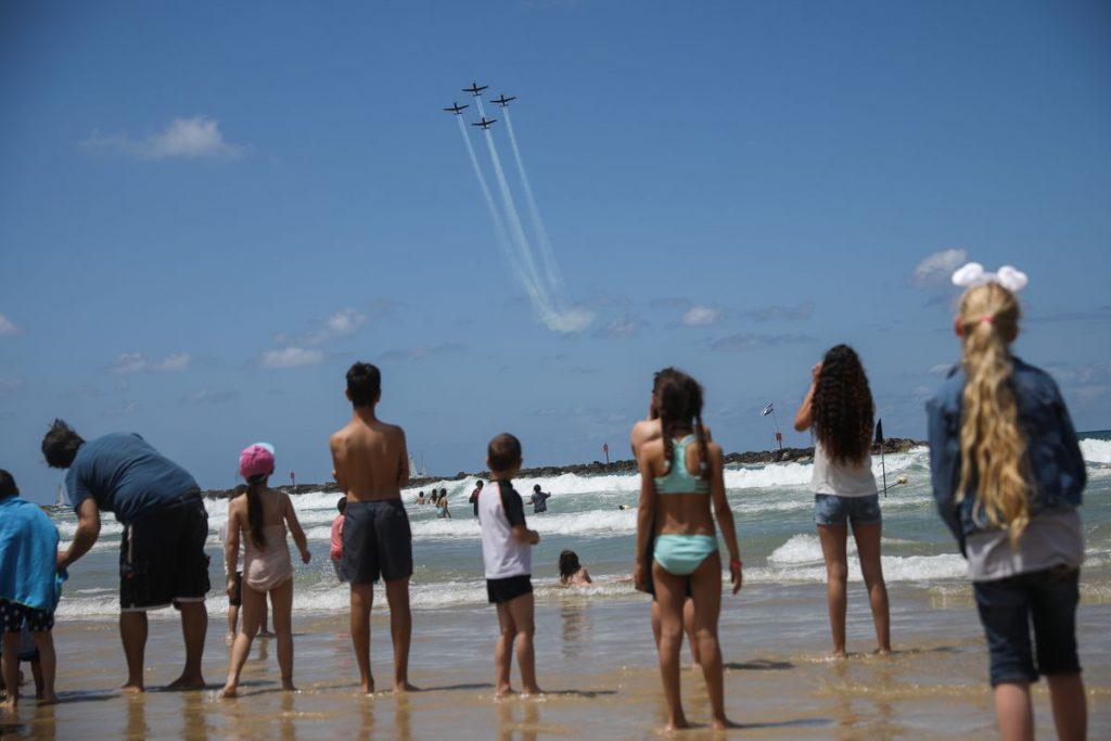 Unabhängigkeitstag Flugshow der Luftwaffe